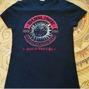 Sublime Lovin' is what I got black and red tee
